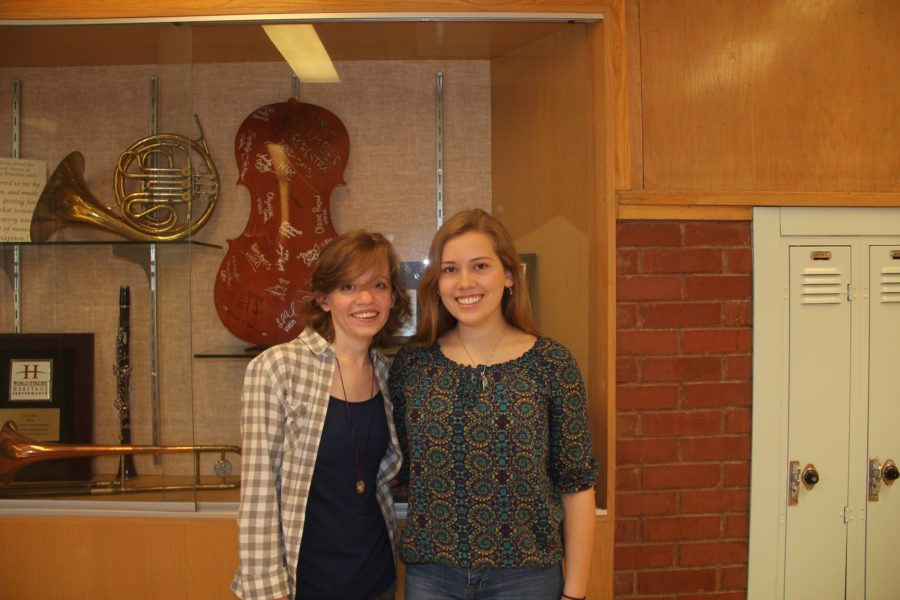 Emma+Lund%2C+%28L%29%2C+and++Bethany+McCombe%2C+%28R%29%2C+were+accepted+into+the+Utah+All-State+Orchestra