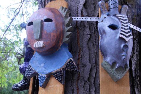 Power Figures Dominate Highland's Courtyard