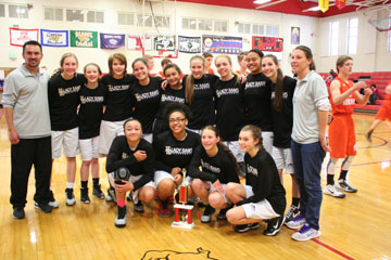 Freshmen Girls Basketball Take 3rd Place in Judge Tournament