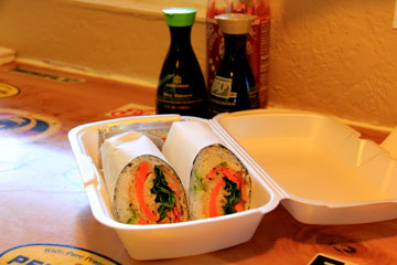 Restaurant Review: Sushi Burrito on 8th