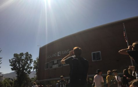 Solar Eclipse Leaves Shadow Over Highland After Thirty-Eight Years