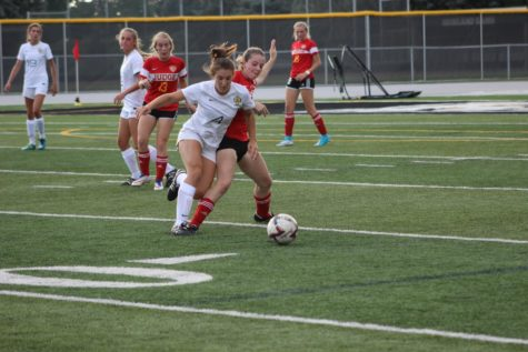 Highland Women's Soccer Falls Short In East Rivalry Game