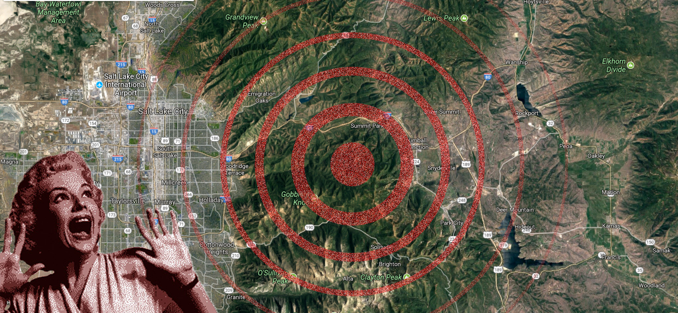A 3.3 earthquake hit just outside Park City on Monday