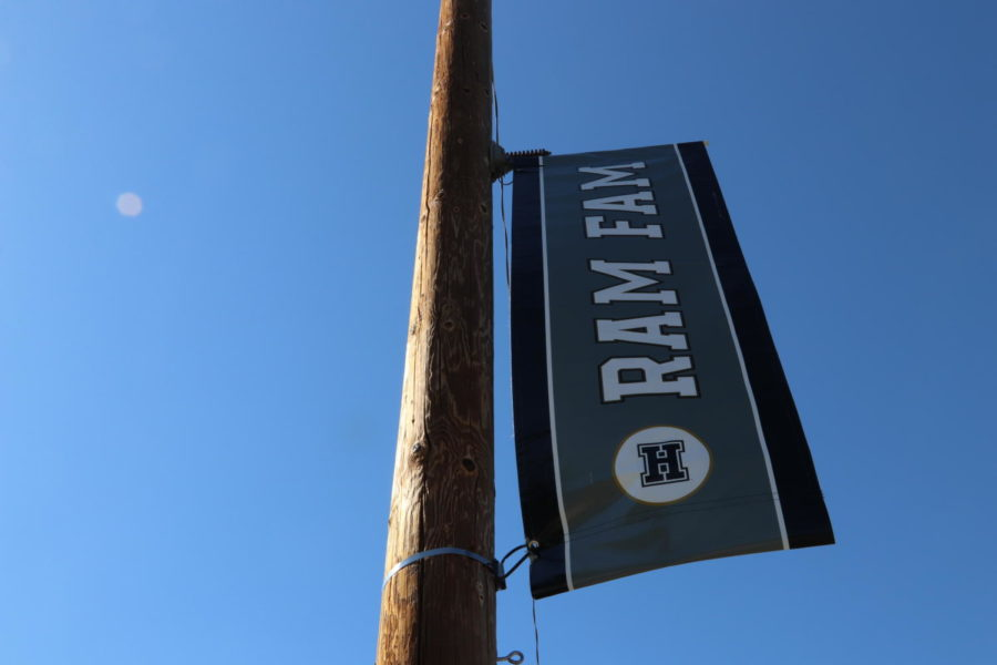 'Ram Fam' Banners Throughout Community Helps Unite The Student Body