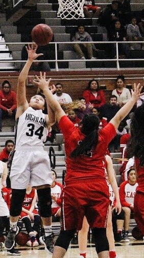 Lady Rams Slip to Leopards in Basketball