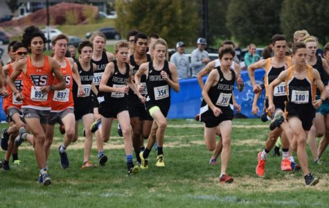 Highland Hosts Cross Country Runners At State Meet