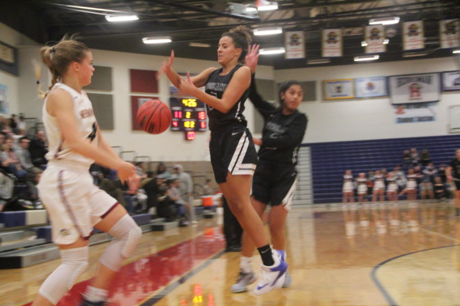 Lady Rams basketball Team Takes On The Mustangs In 2nd Preseason Game