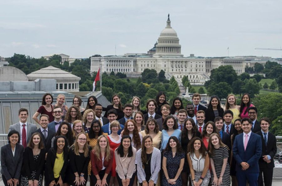 The+students+selected+for+the+Al+Neuharth+Free+Spirit+and+Journalism+Conference+traveled+to+Washington+D.C.+for+five+journalism-filled+days.++