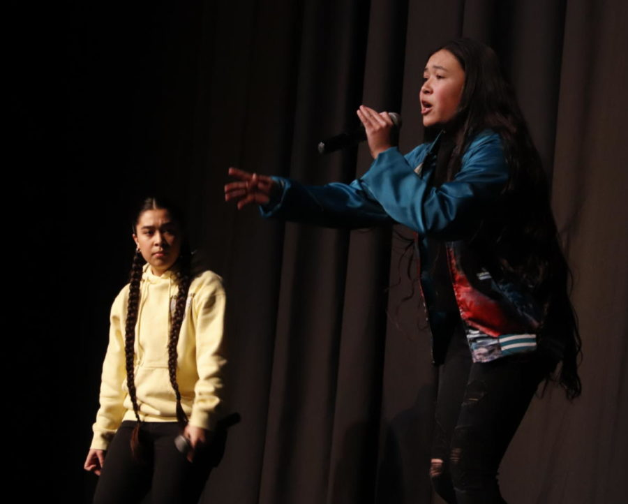 Sisters Shine At The Talent Show