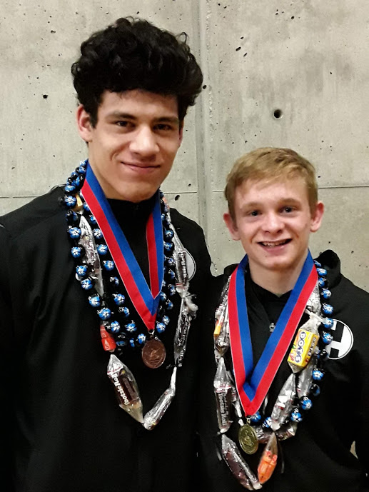 Highland Wrestling Duo Reaches State Championships