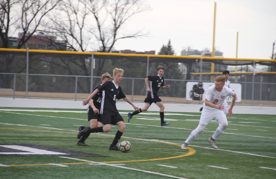 Sam Ker is a sophomore that was an important starter for Highland's soccer team this season.