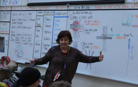 Daly Makes Her Mark on Highland's Art Department