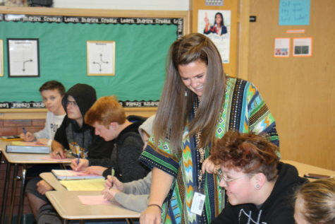 Kathryn Watkins: A New Teacher Lights up Highland