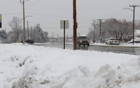 Snow Pile-Up Leads to Car Pile-Up