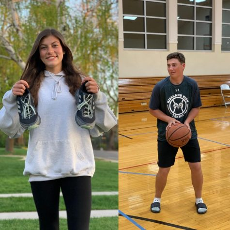 Torres and Jorgensen both relied on running and basketball respectively this year as a way to cope with school.