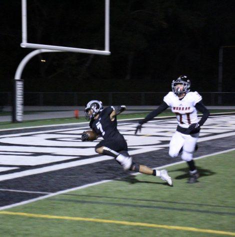 Khalil Jones runs past Murray defender to score the final touchdown.
